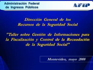 Dirección  General  de  los   Recursos  de  la  Seguridad  Social