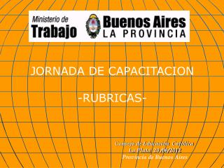 JORNADA DE CAPACITACION -RUBRICAS-