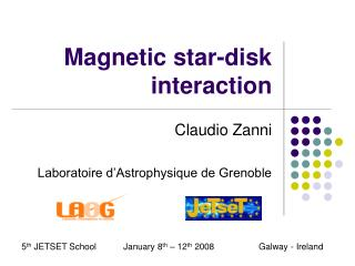Magnetic star-disk interaction