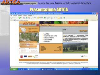 Presentazione ART€A