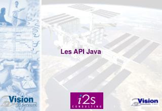 Les API Java