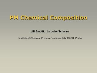 PM Chemical Composition