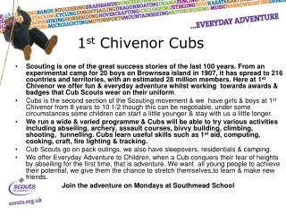 1 st  Chivenor Cubs