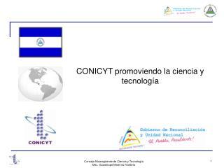 CONICYT promoviendo la ciencia y tecnología