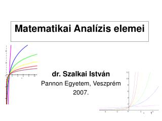Matematikai Analízis elemei