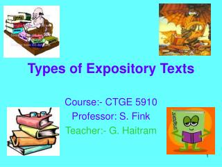 Types of Expository Texts