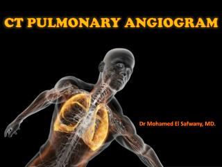 CT PULMONARY ANGIOGRAM