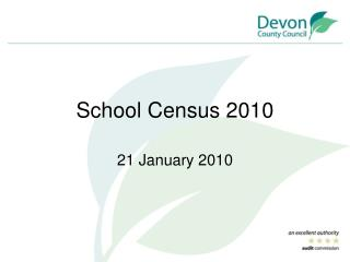 School Census 2010