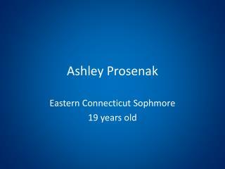 Ashley Prosenak