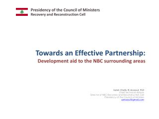 Towards an Effective Partnership: Development aid to the NBC surrounding areas
