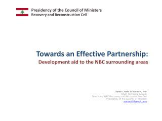 Towards an Effective Partnership: Development aid to the NBC surrounding areas
