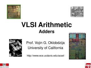 VLSI Arithmetic Adders