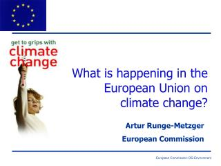 What is happening in the European Union on  climate change?