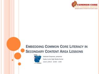 Embedding Common Core Literacy in Secondary Content Area Lessons