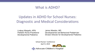 OVERVIEW OF ATTENTION DEFICIT HYPERACTIVITY DISORDER ADHD