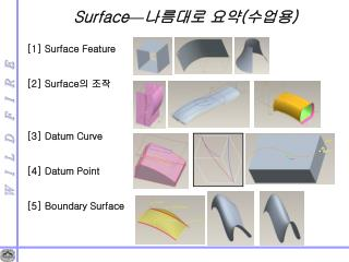 Surface — 나름대로 요약 ( 수업용 )