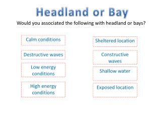 Headland or Bay
