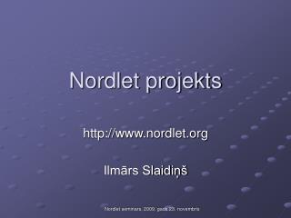 Nordlet projekts