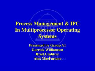 Process Management & IPC In Multiprocessor Operating Systems