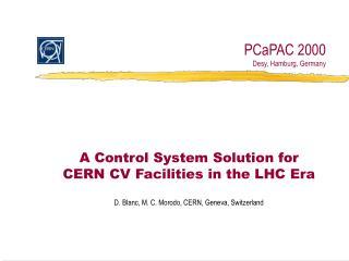 PCaPAC 2000 Desy, Hamburg, Germany