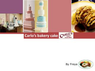 Carlo's bakery cake