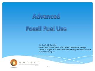 Advanced Fossil Fuel Use