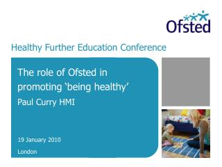 Healthy Further Education Conference