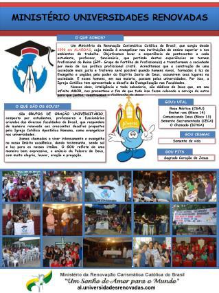 MINISTÉRIO UNIVERSIDADES RENOVADAS