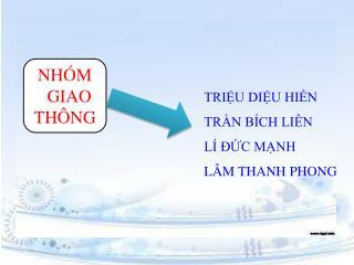 NHÓM   GIAO THÔNG