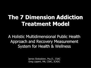 The 7 Dimension Addiction Treatment Model