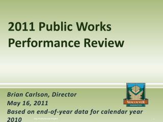 2011 Public Works Performance Review