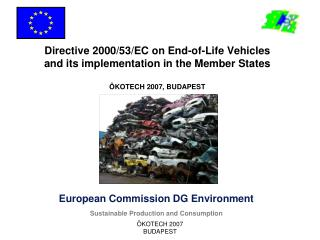 European Commission DG Environment Sustainable Production and Consumption