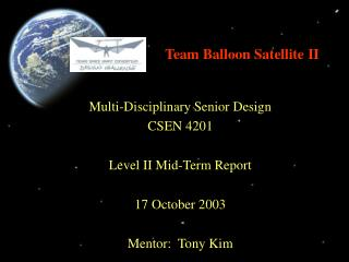 Team Balloon Satellite II