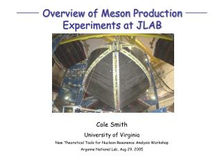 Overview of Meson Production Experiments at JLAB