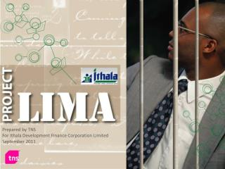 Prepared by TNS For Ithala Development Finance Corporation Limited September 2011