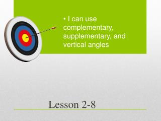 Lesson 2-8