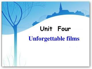 Unforgettable films