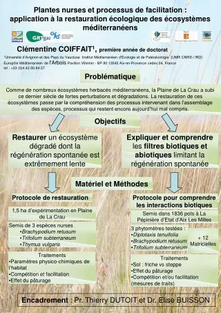 Clémentine COIFFAIT 1 ,  première année de doctorat