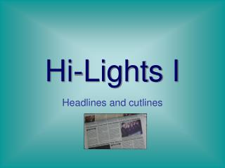 Hi-Lights I