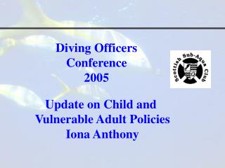Diving Officers  Conference 2005