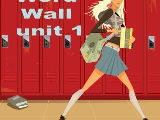 Word  Wall  unit 1