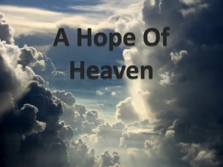 What will we do in Heaven