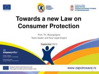 Towards a new Law on Consumer Protection
