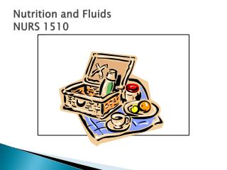 Nutrition and Fluids NURS 1510