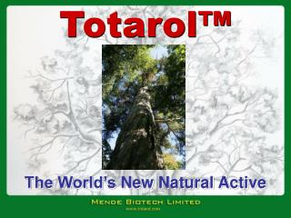 The World s New Natural Active