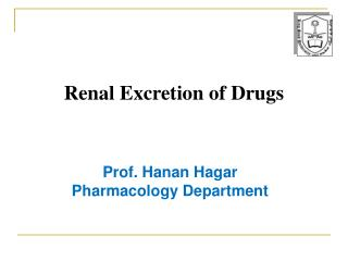 Renal Excretion of Drugs
