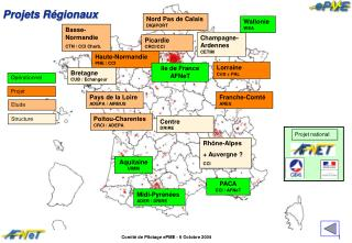 Projets R�gionaux
