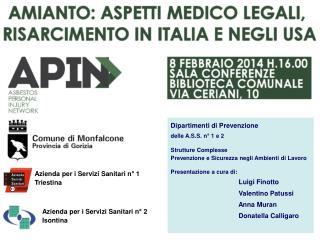 Azienda per i Servizi Sanitari n° 1 Triestina