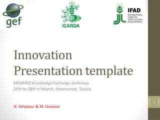 Innovation Presentation template