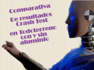 Comparativa De resultados  Crash  Test en Todoterreno con y sin aluminio
